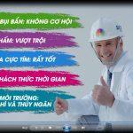 TVC Quảng cáo sơn SKY LEGEND lên sóng truyền hình