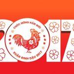 THÔNG BÁO: Lịch nghỉ Tết Dương lịch 2017 và Tết Nguyên đán Đinh Dậu